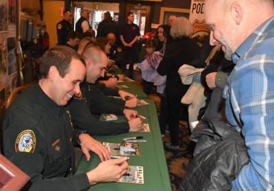 North Woods Law autographs