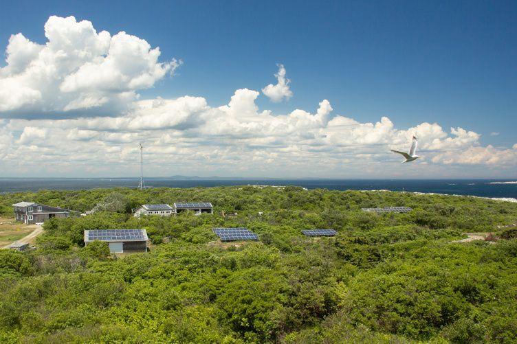 Appledore Island microgrid