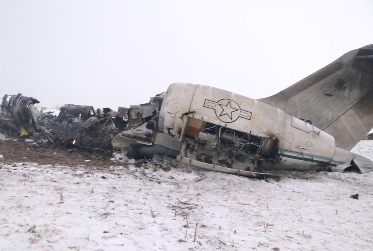 AFGHANISTAN-AIRPLANE/CRASH
