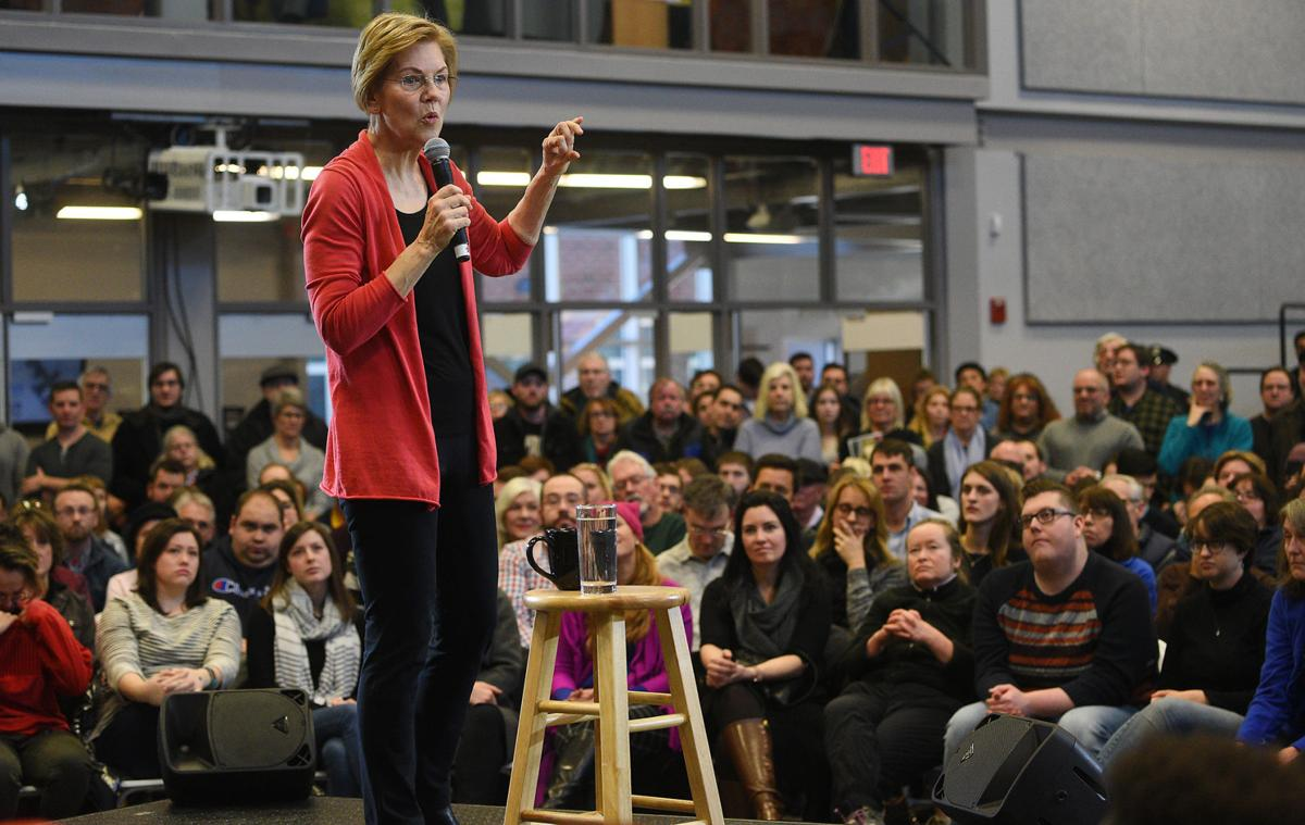 Warren kicks off 2020 exploratory campaign in NH, two other Democrats jump in