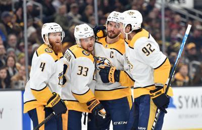 NHL: Nashville Predators at Boston Bruins