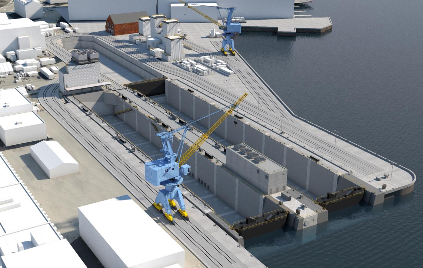 Rendering of PNSY dry docks