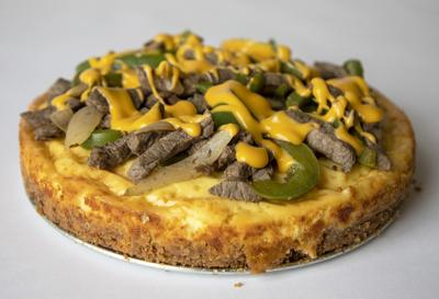 I made a cheesesteak cheesecake, and it really was good