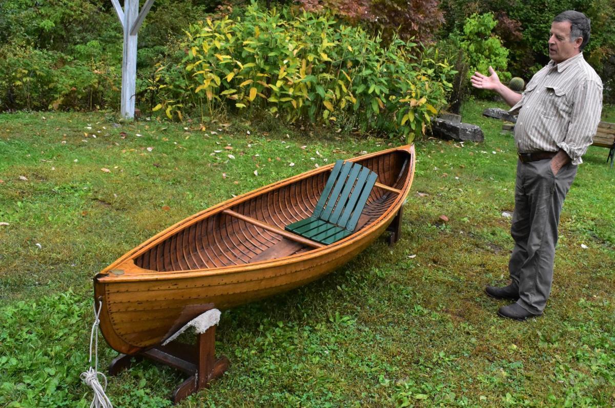 Historic canoe