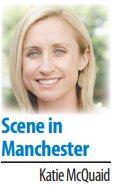 Katie McQuaid's Scene in Manchester column sig