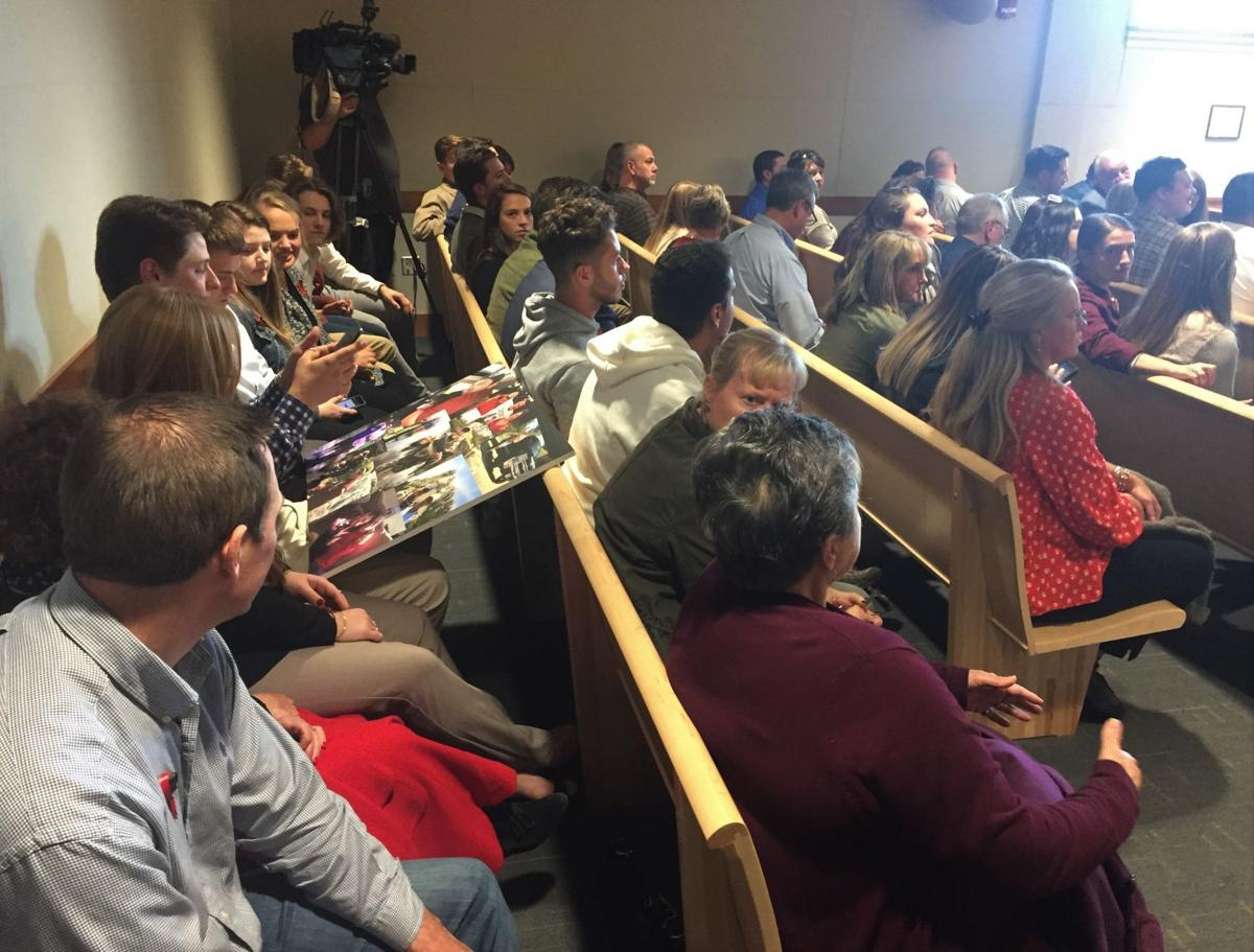 Sentencing hearing crowd leads to call for longer jail terms