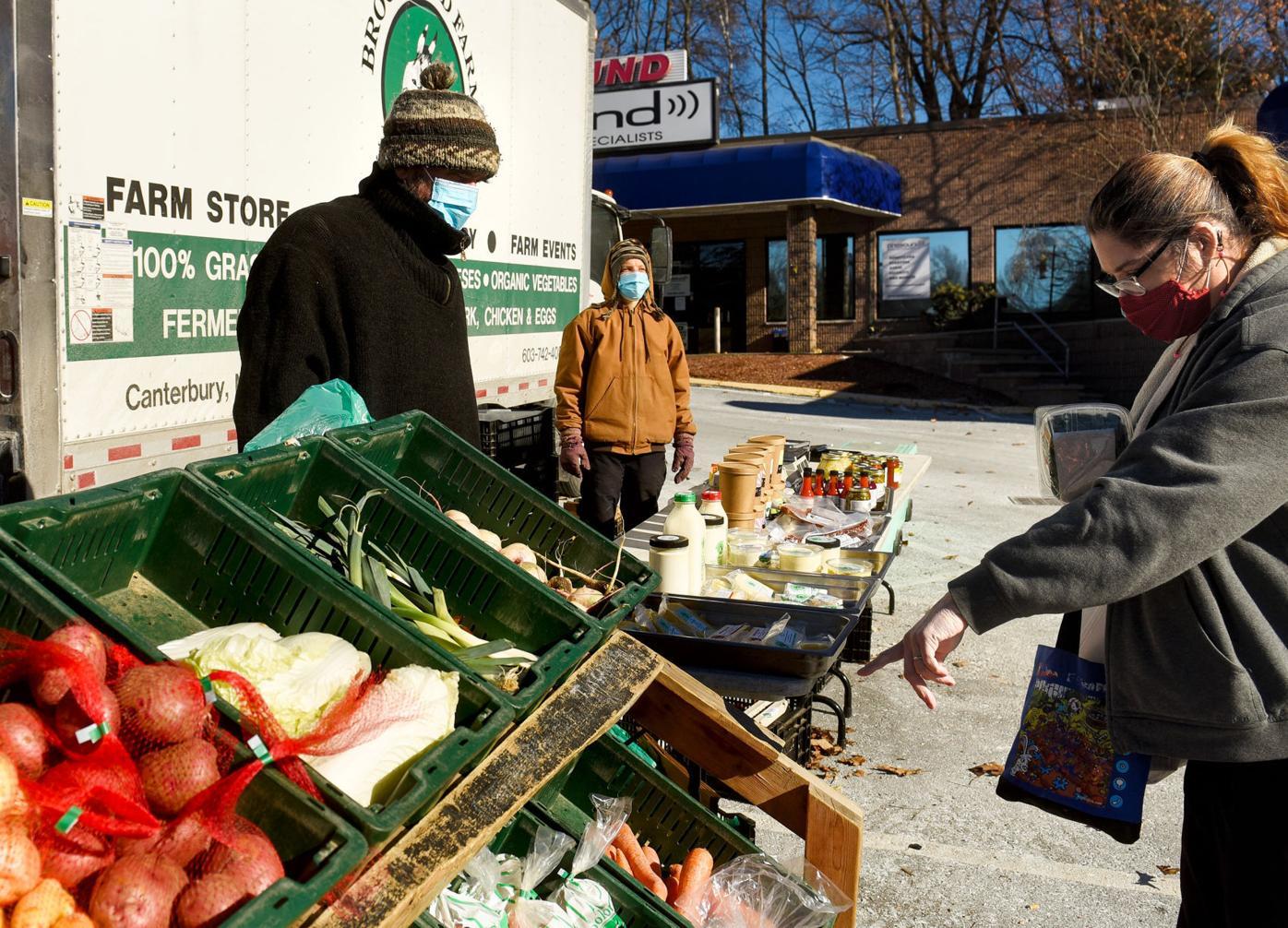 Brookford Farm veggies