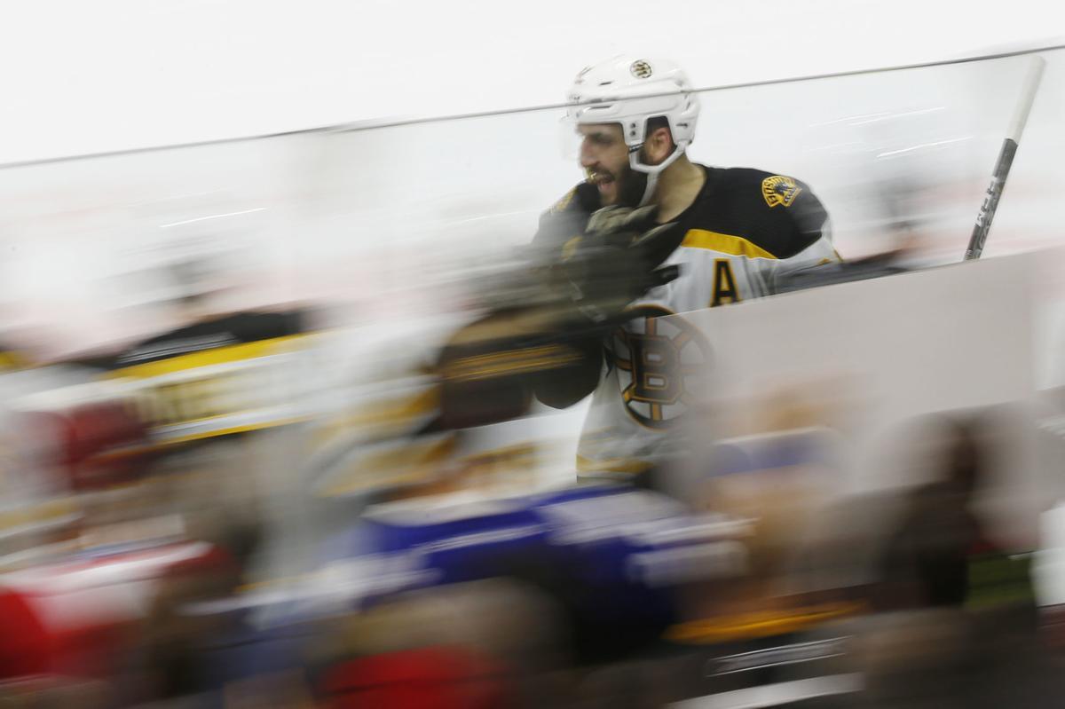 NHL: Stanley Cup Playoffs-Boston Bruins at Carolina Hurricanes