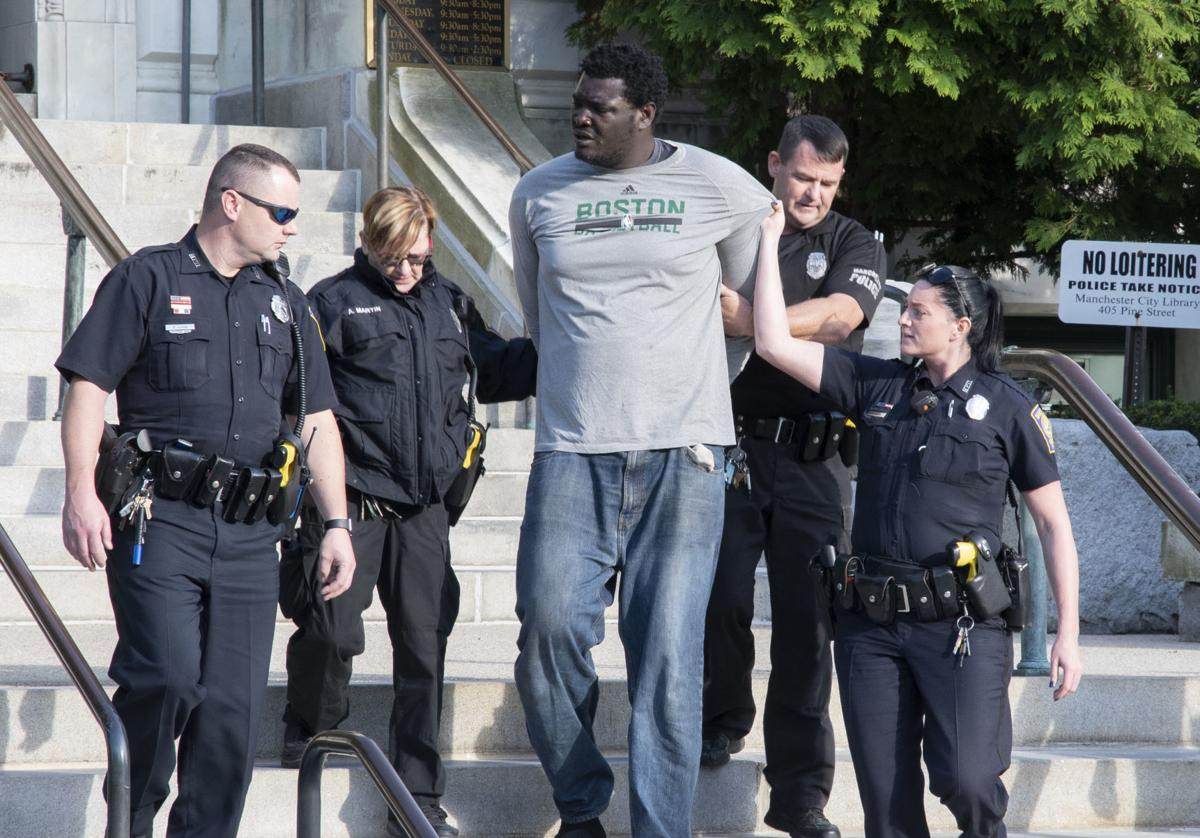 Homeless 7-foot-2 Nigerian man arrested again, this time in Nashua