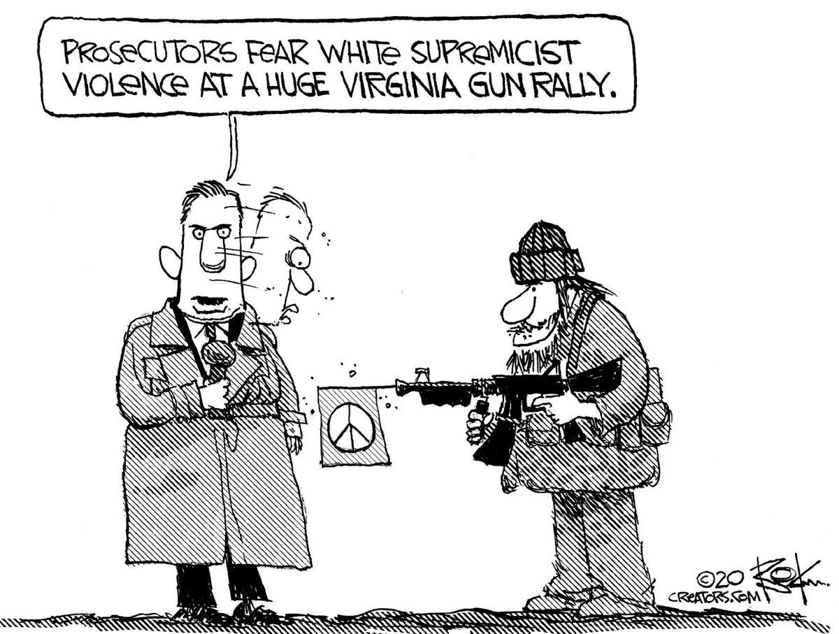 Editorial Cartoon, Jan. 24, 2020
