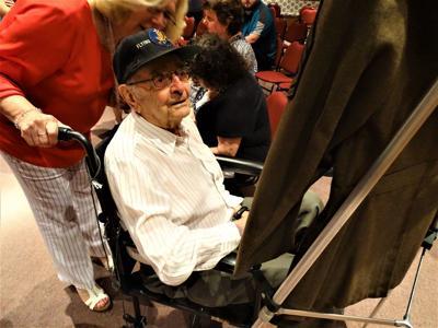 Antonio Vaccaro, 100-year-old veteran