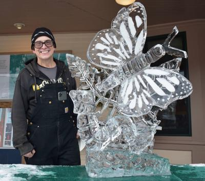 25th Annual Ice Carving Competition at The Wentworth Inn