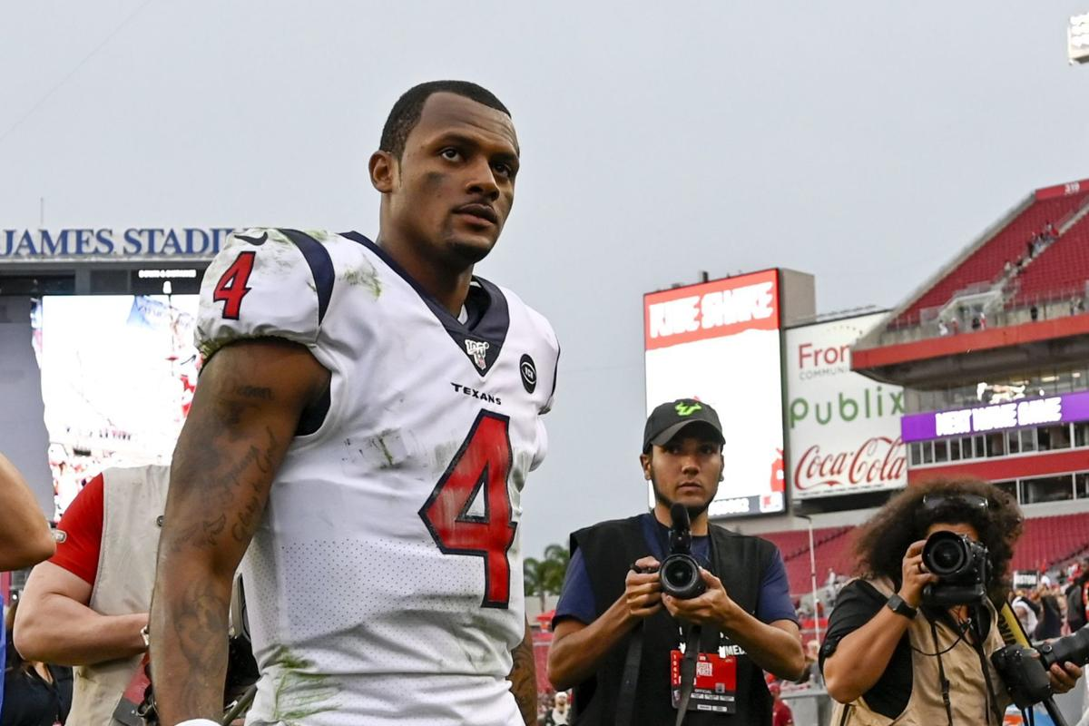 NFL Investigating Sexual Misconduct Allegations Against Houston Texans Quarterback Deshaun Watson