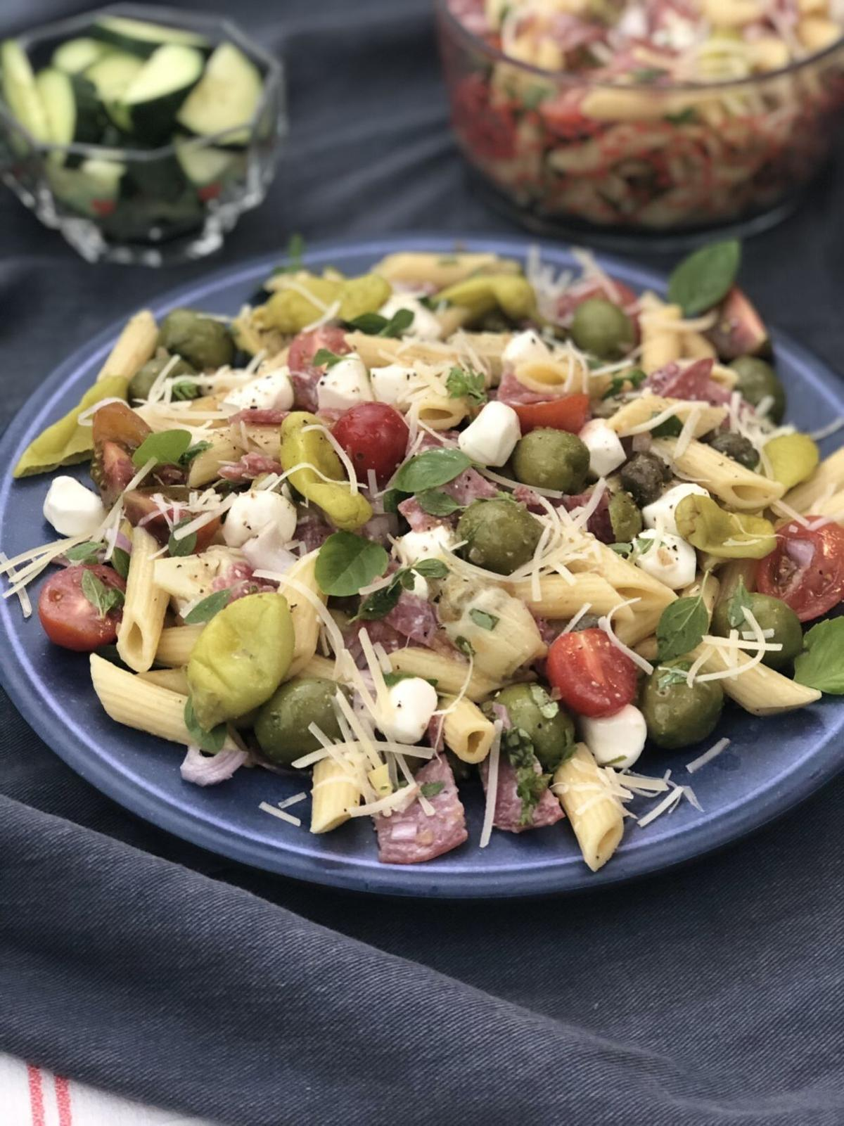 Antipasto-inspired Pasta Salad