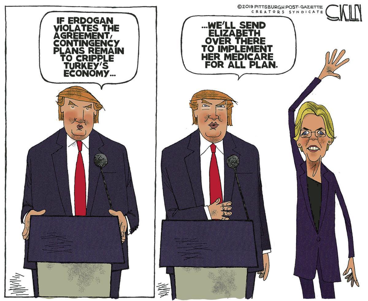 Editorial Cartoon, Oct. 20, 2019