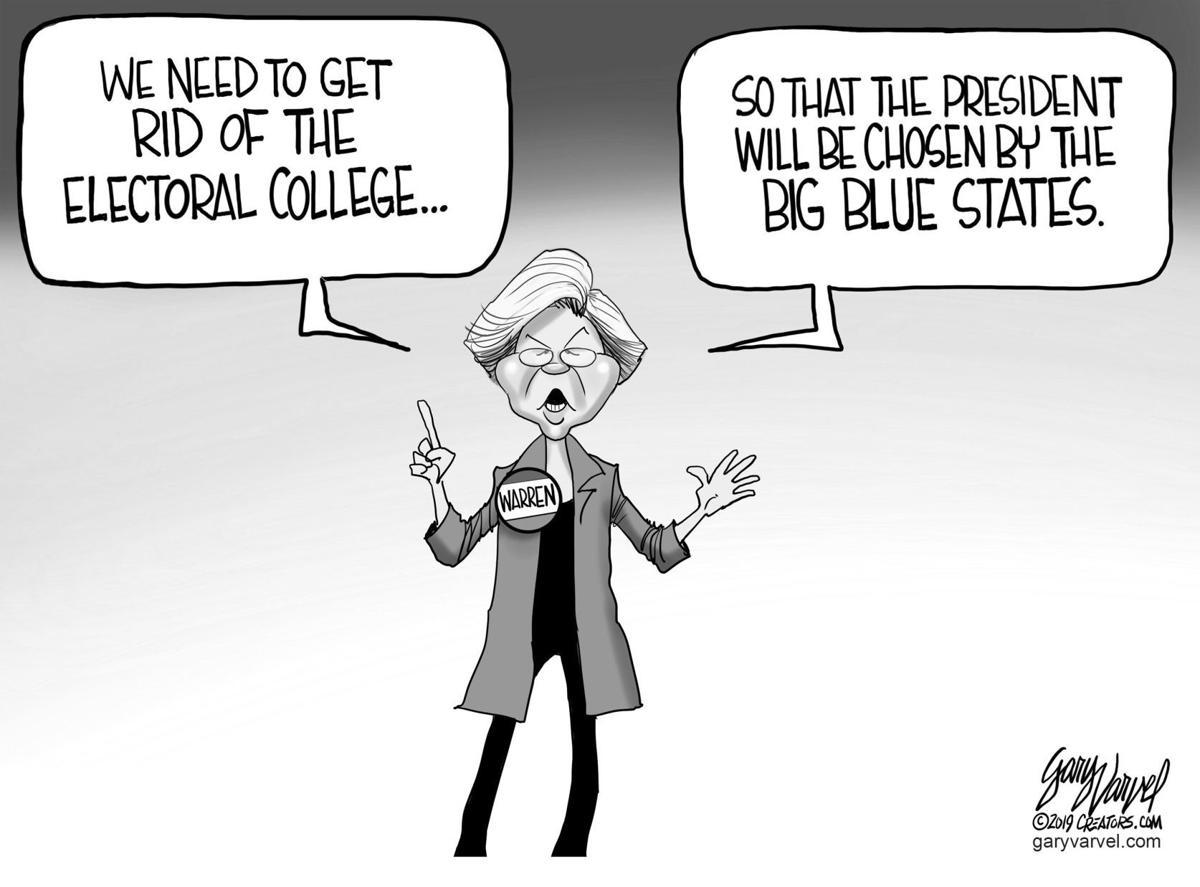 Editorial Cartoon, March 22, 2019
