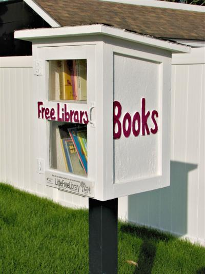 Pinardville's Little Free Library