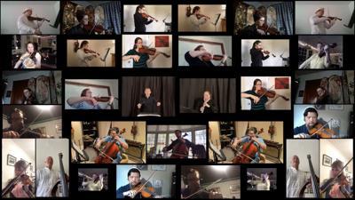 Virtual orchestra