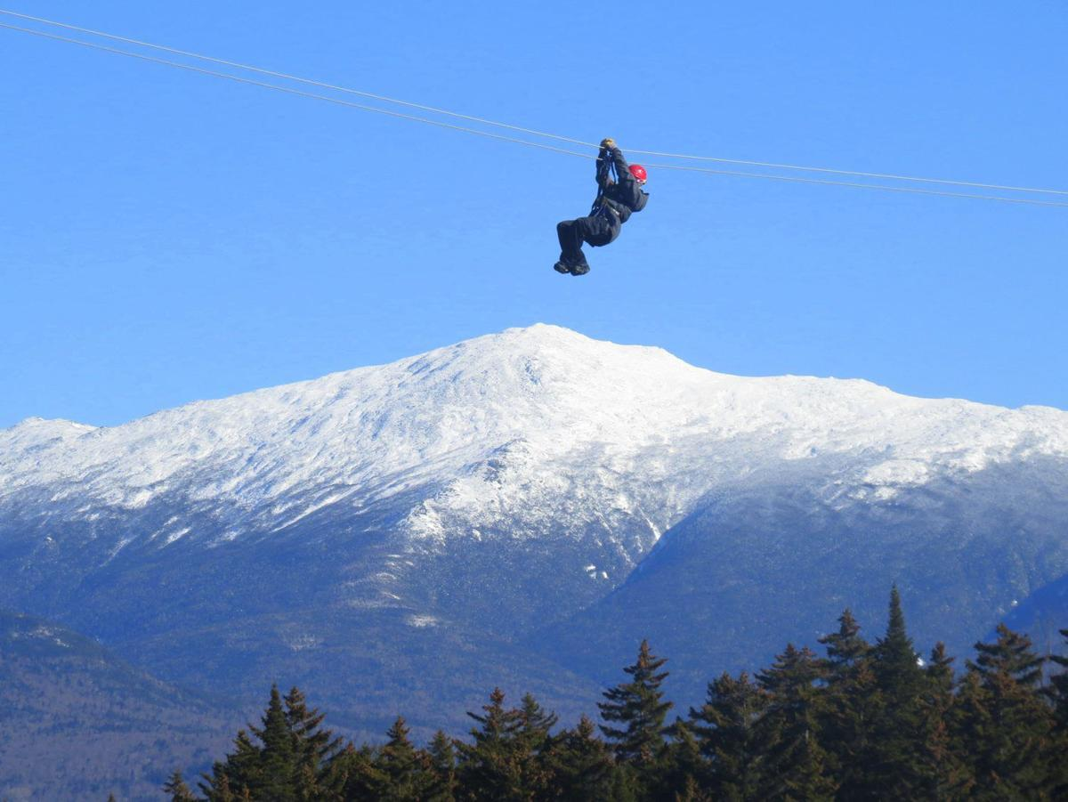 Winter Notes -- Zip lining: Soaring over the slopes