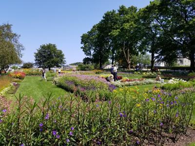 Prescott Park gardens
