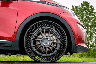 General Motors airless tires