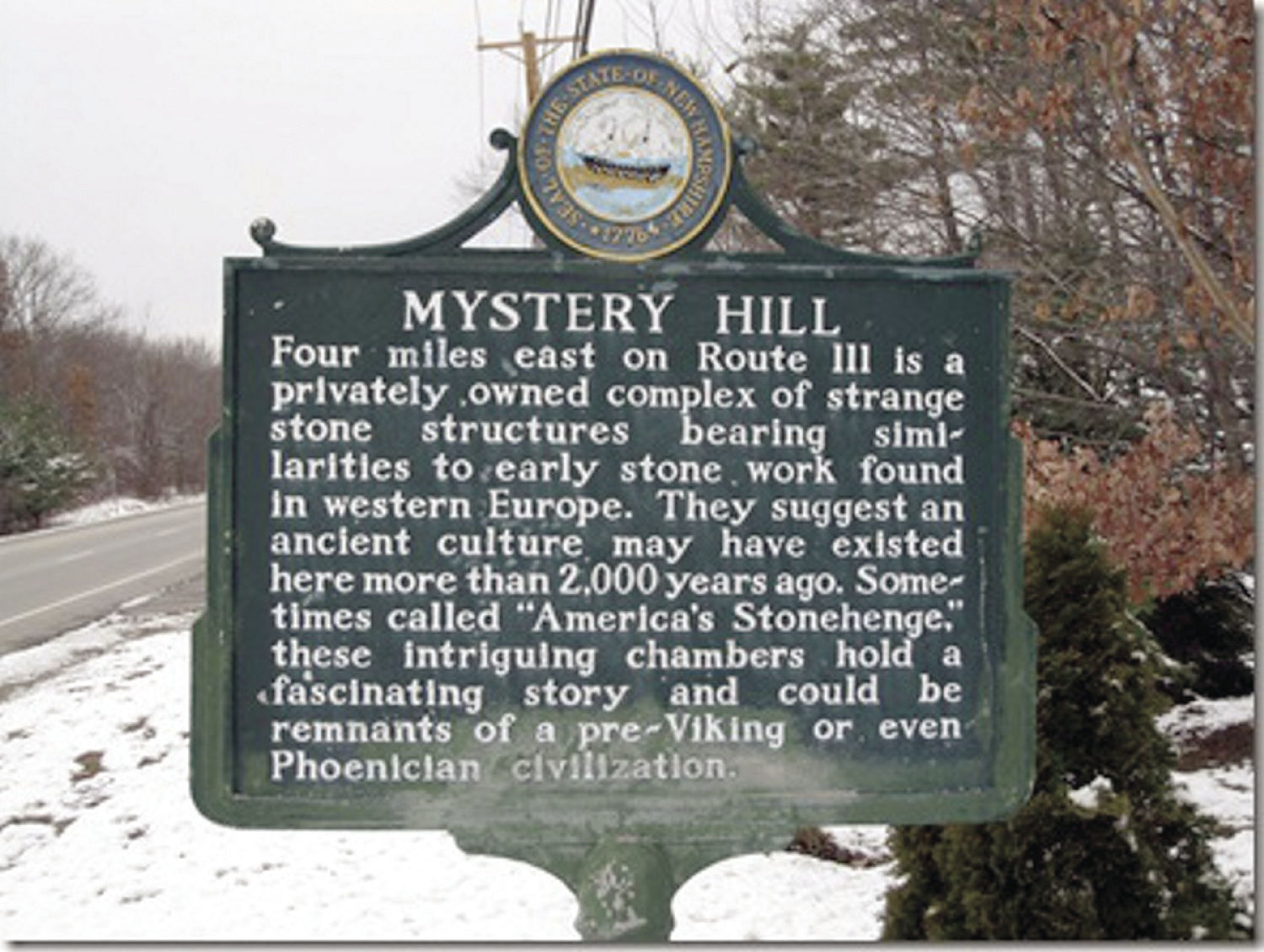 Americas Stonehenge, The Mystery Hill Story
