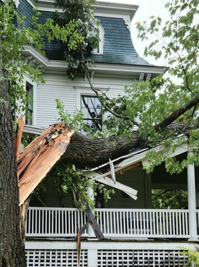Whitefield storm damage