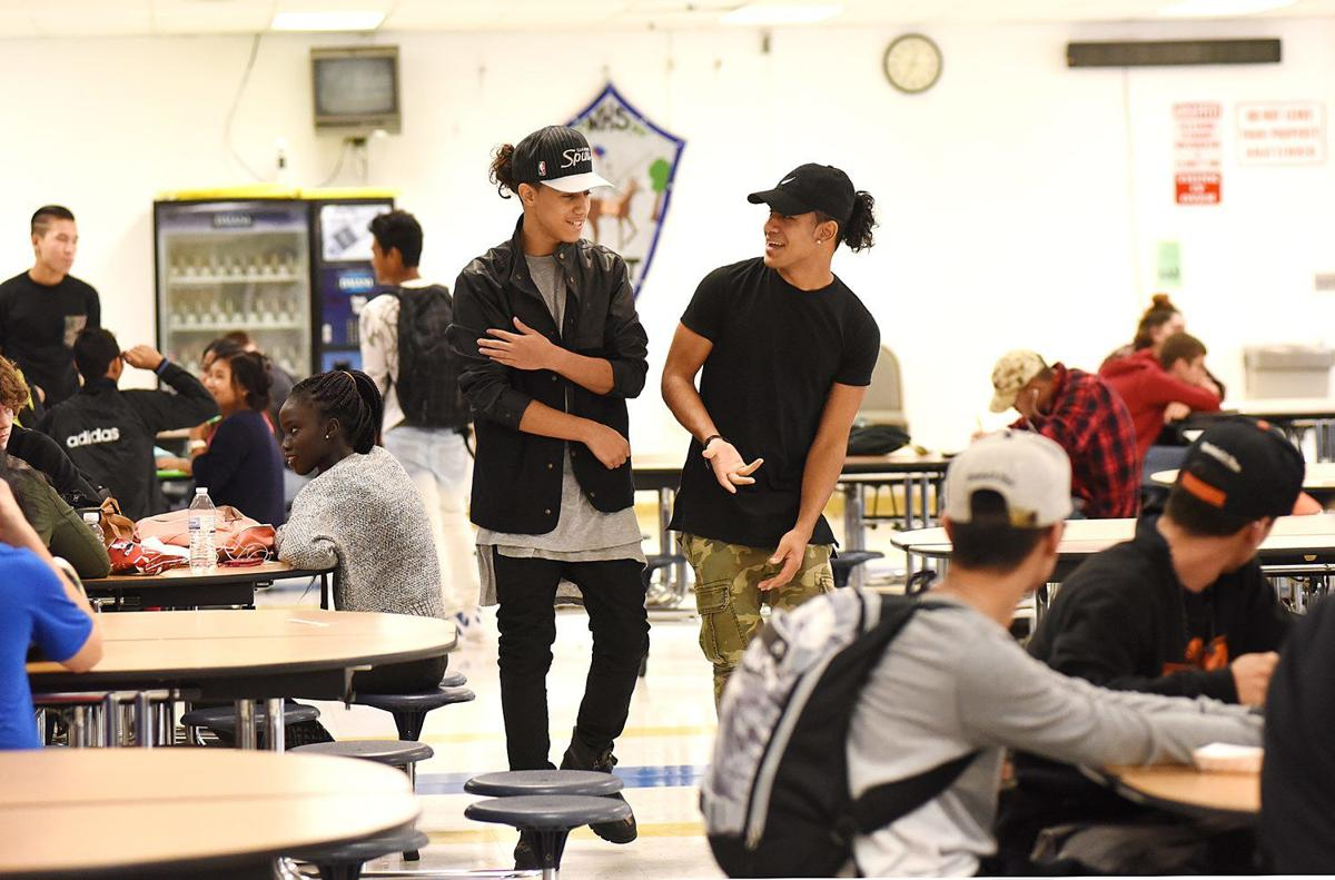 Brothers hope to dance and sing from Manchester West hallways to boy-band stardom