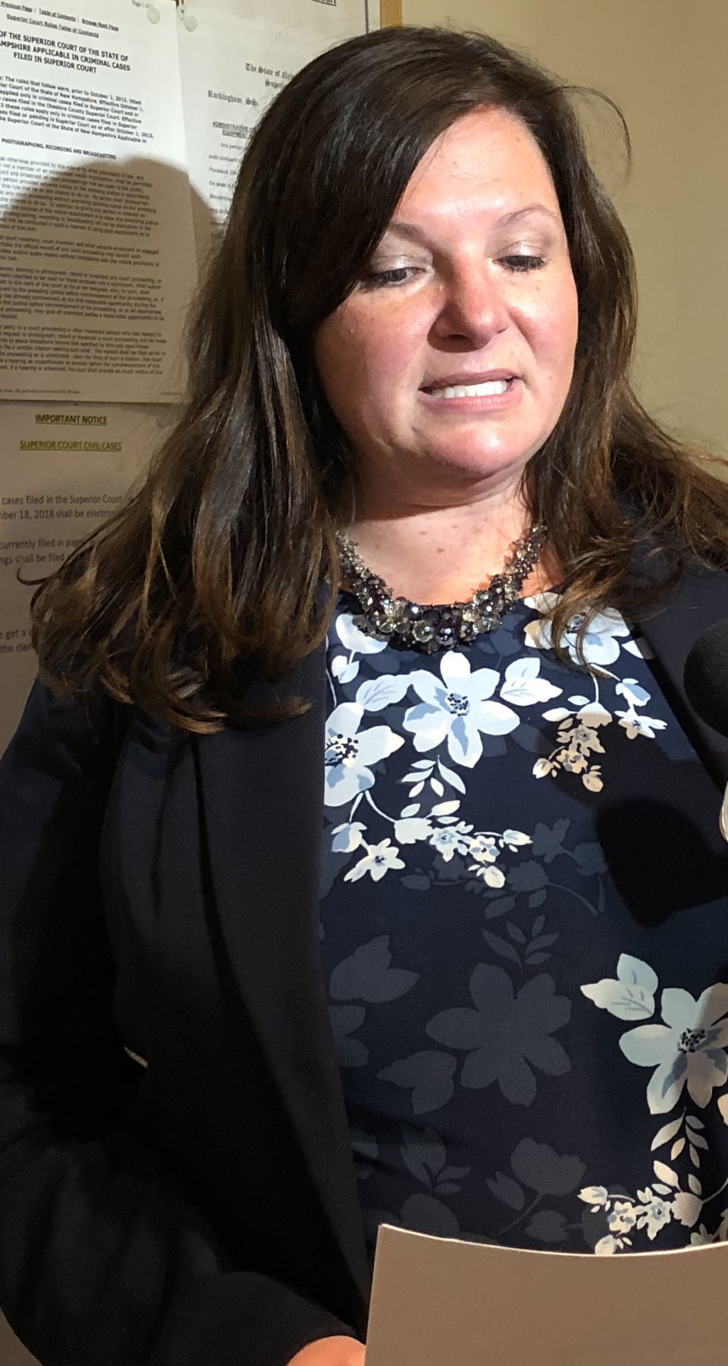 Prosecutor Jennifer Haggar