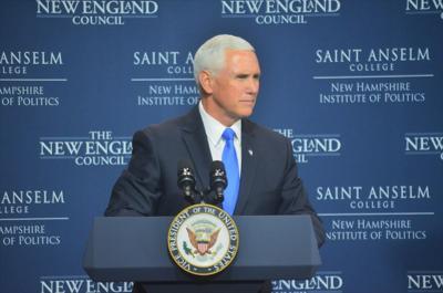 Mike Pence at Saint Anselm NHIOP