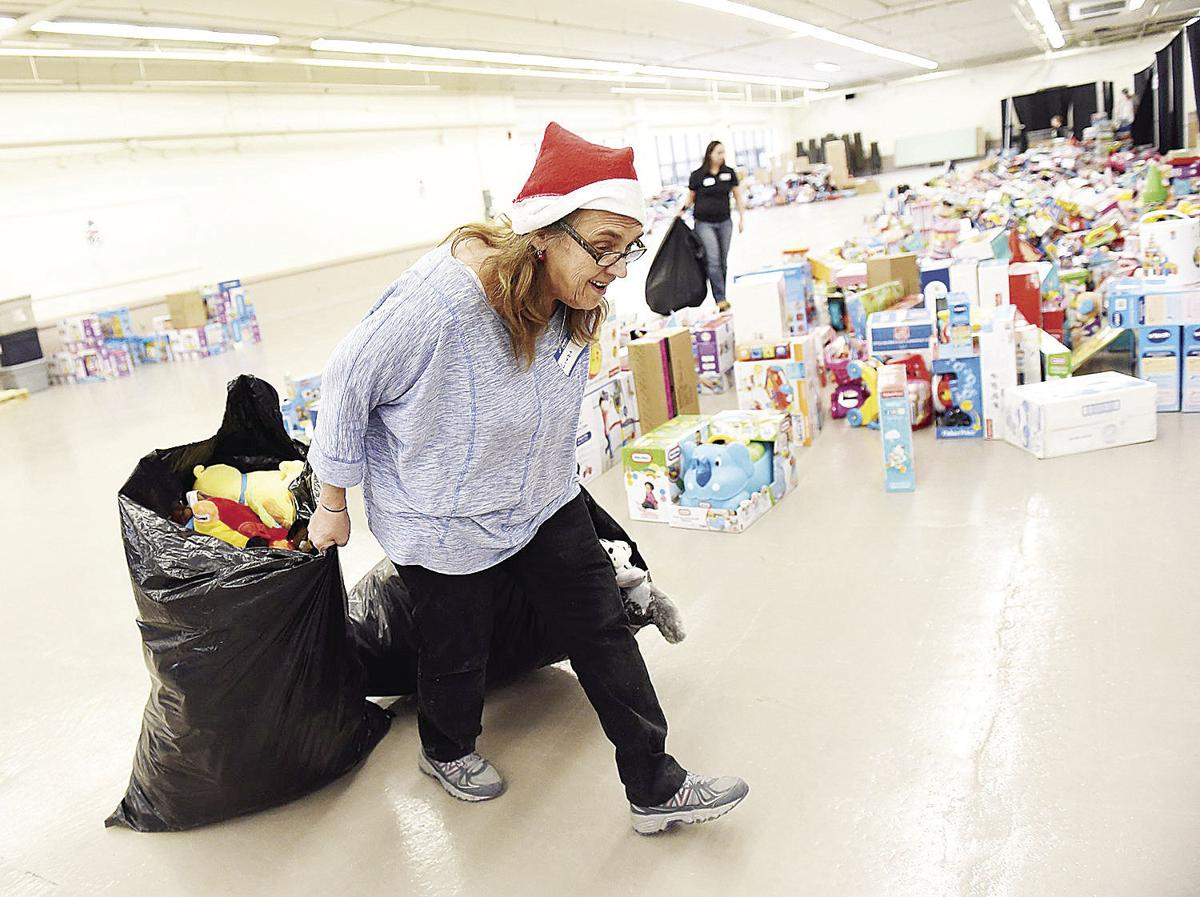 The holiday came early for parents at the annual Santa Fund Toy Shop