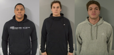 UNH football players arrested
