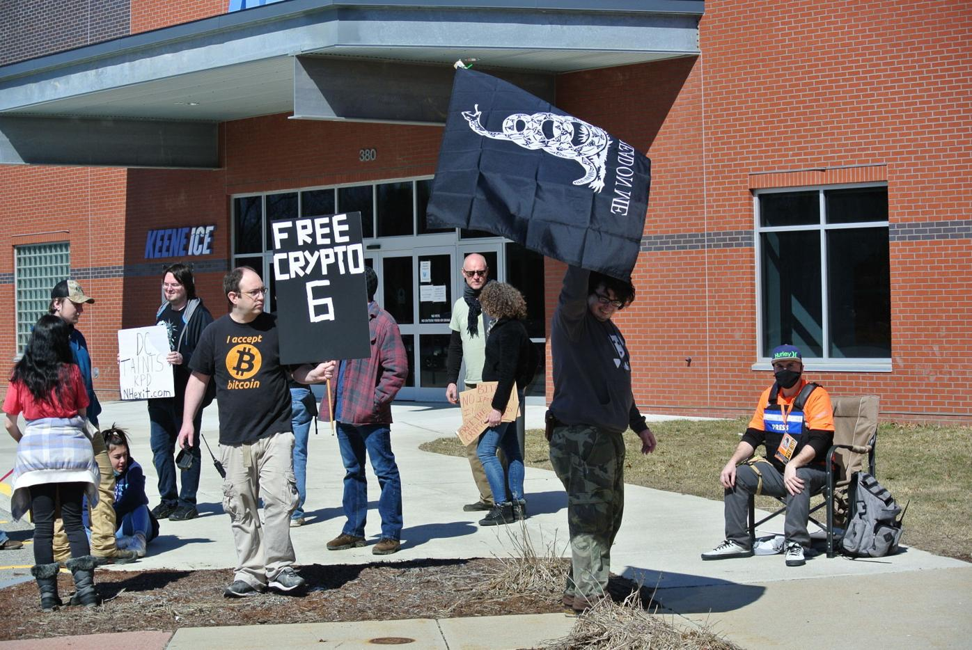 Free Keene protesters