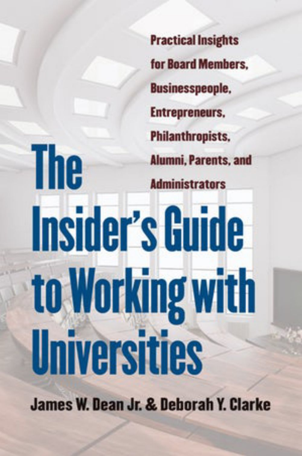 UNH president's book