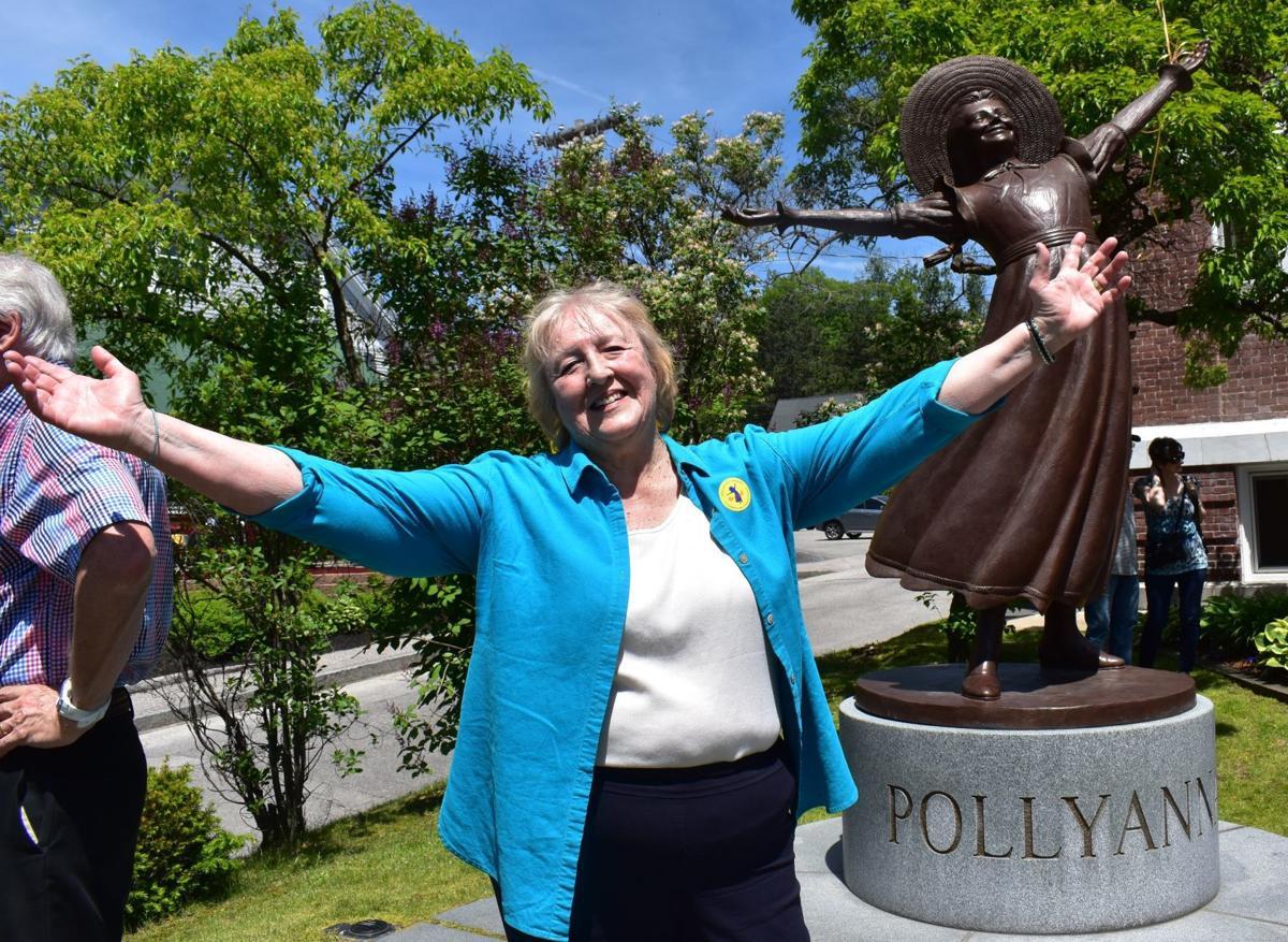 Pollyanna statue
