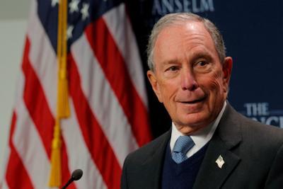 Former New York City Mayor Bloomberg