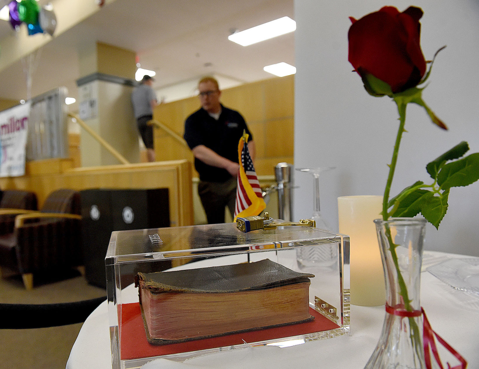 Replacing Bible with multi-religion Book of Faith at Manchester VA display meets resistance