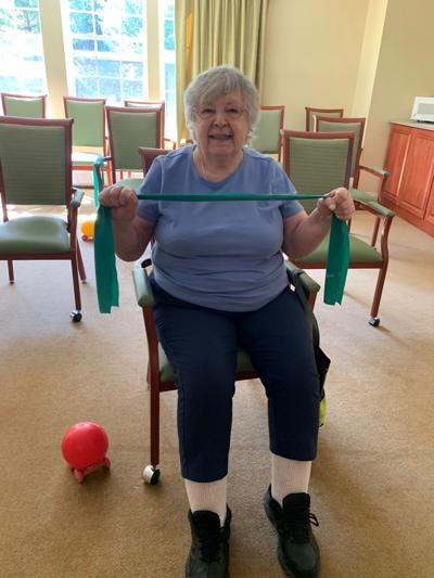 Retired P.E. reacher celebrates Physical Wellness Month, encourages others to stay active