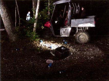 Fatal UTV crash in Candia