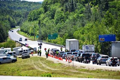 U.S. Customs-Border Patrol checkpoint in Woodstock