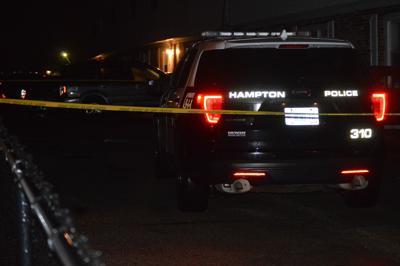 Suspicious death in Hampton