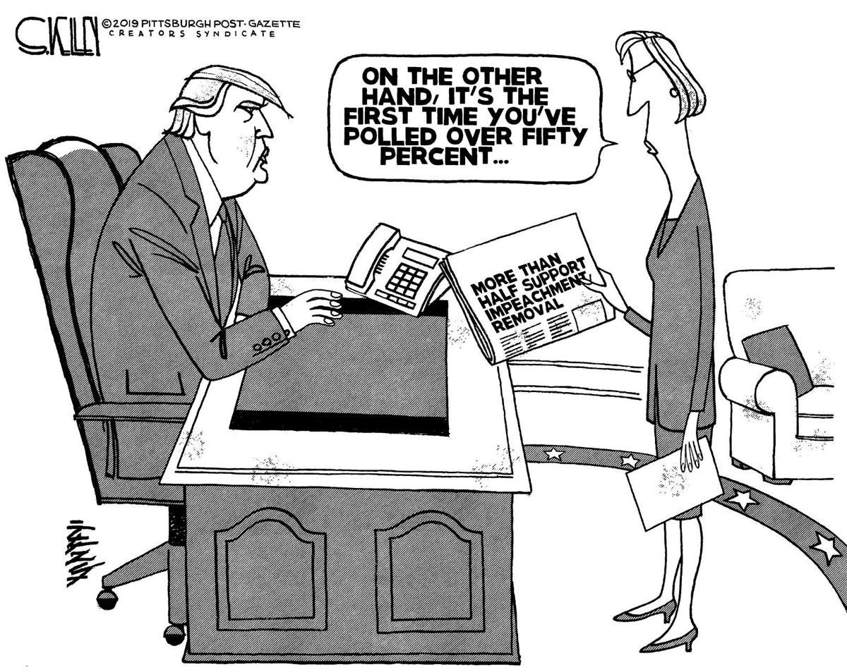 Editorial Cartoon, Oct. 15, 2019