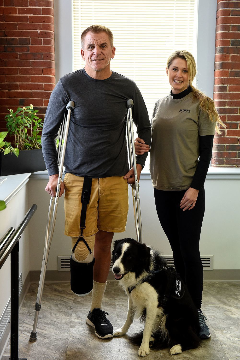 Former Navy SEAL will walk again with help from Millyard firm