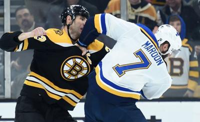 NHL: St. Louis Blues at Boston Bruins