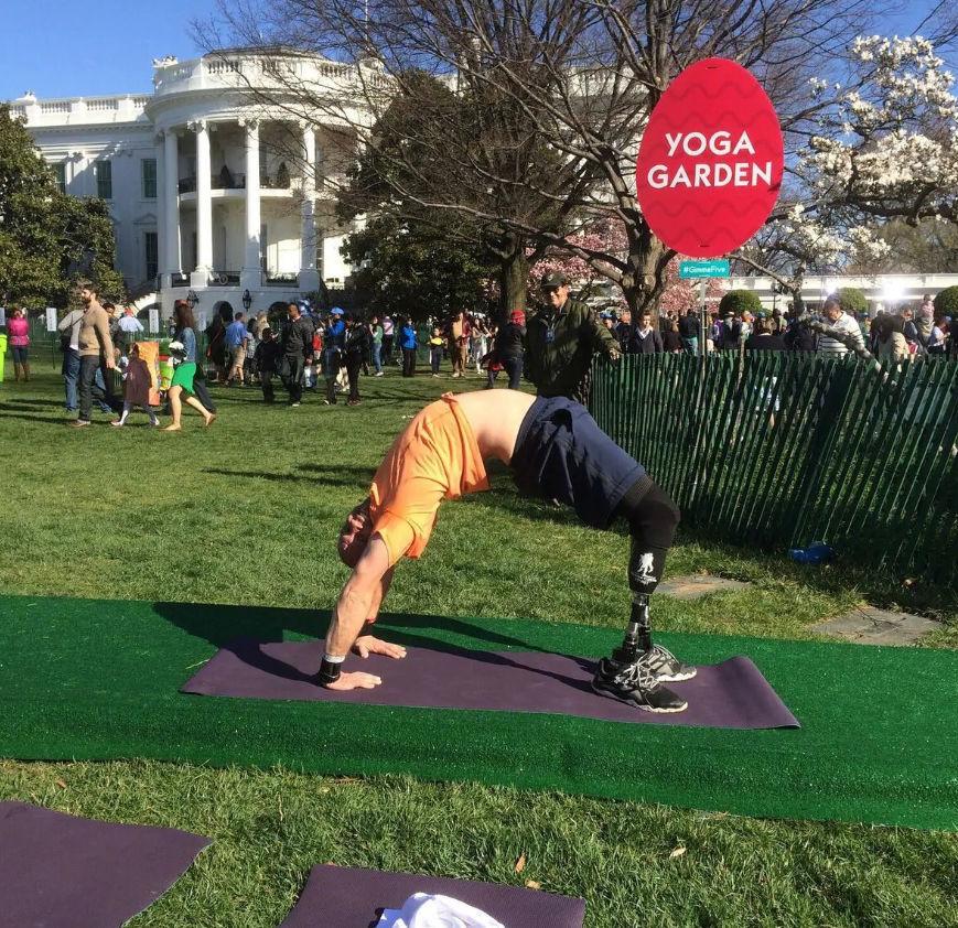 Yoga veteran