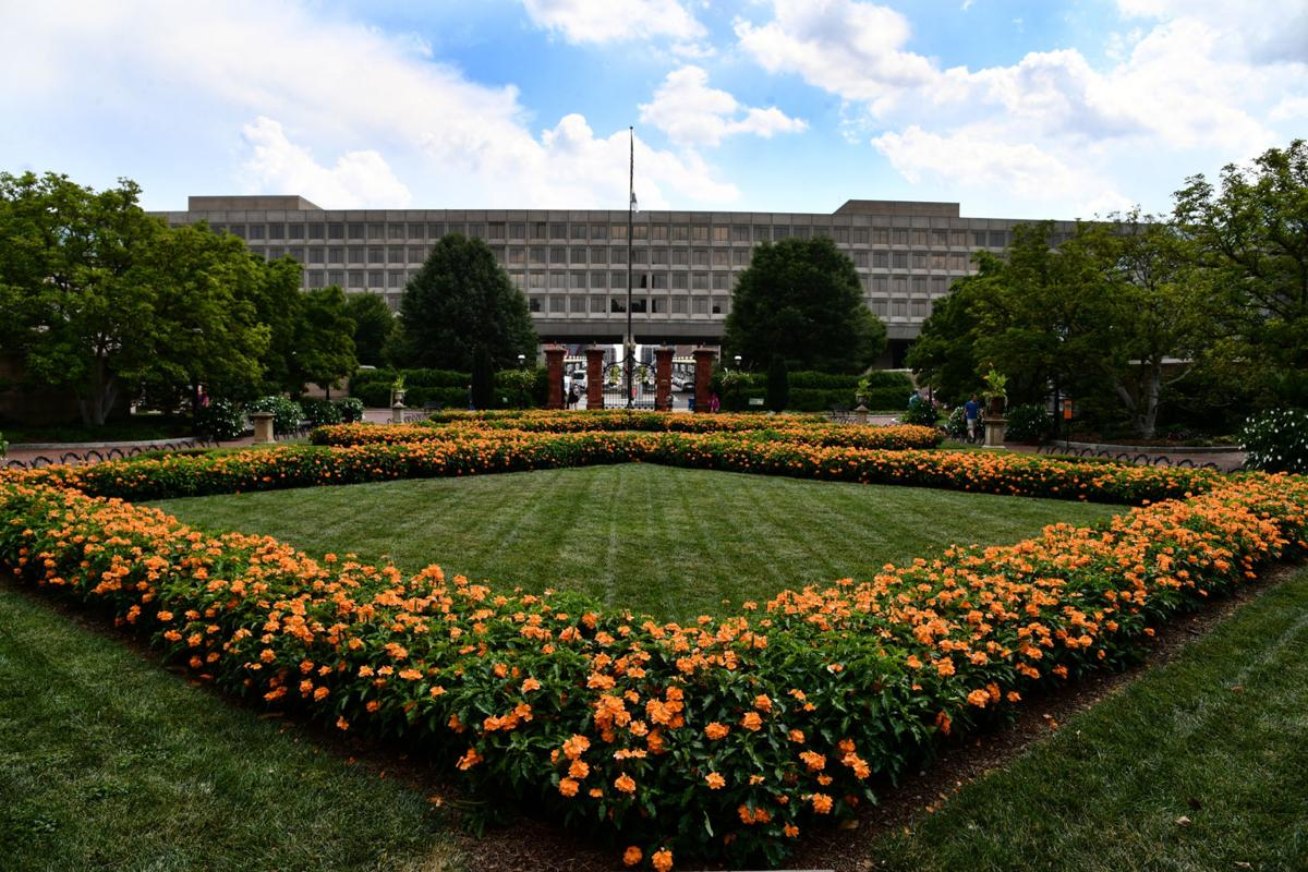 For charming gardens, visit the edge of D.C.'s National Mall