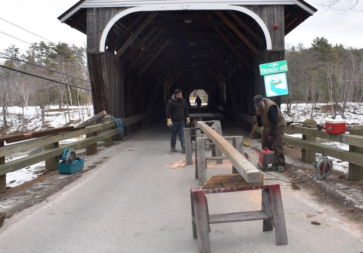 Blair Covered Bridge in Campton