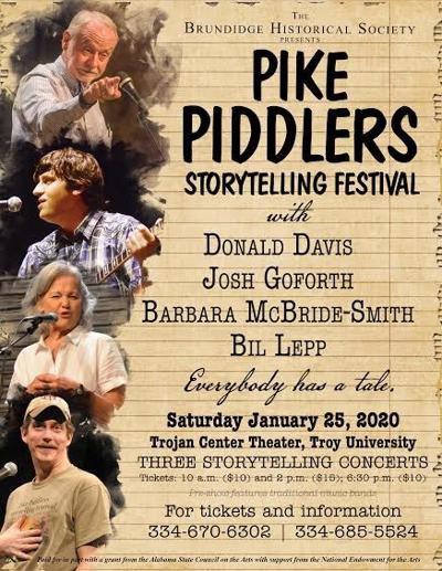 The 14th Annual Storytelling Festival Tickets are now on sale for the Pike Piddlers Storytelling Festival on January 24 and 25, 2020.