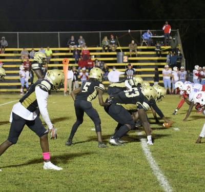Bullock County Hornets on the line against Dale County.