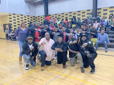 The Union Springs Hornets 11-12 year old team held its ring ceremony on Saturday, January 4, 2020.